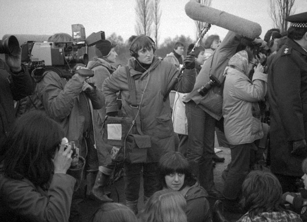 journalists Greenham Common